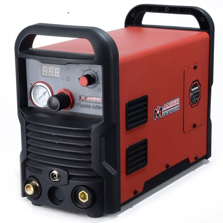 Amico Power 50 Amp Air Plasma Cutter, IGBT Inverter 3/4 in. Clean Cut, AC 100-240V Cutting Machine