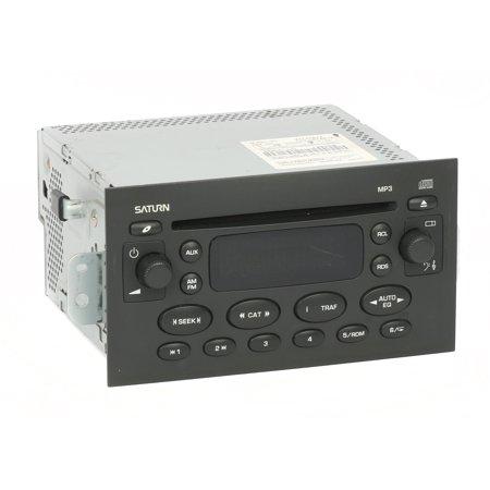 2004 Saturn Ion Vue Radio AM FM mp3 Single Disc CD Player PN 22727872 Option US8 - Refurbished