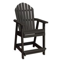 Highwood® Hamilton Recycled Plastic Counter Height Adirondack Deck Chair