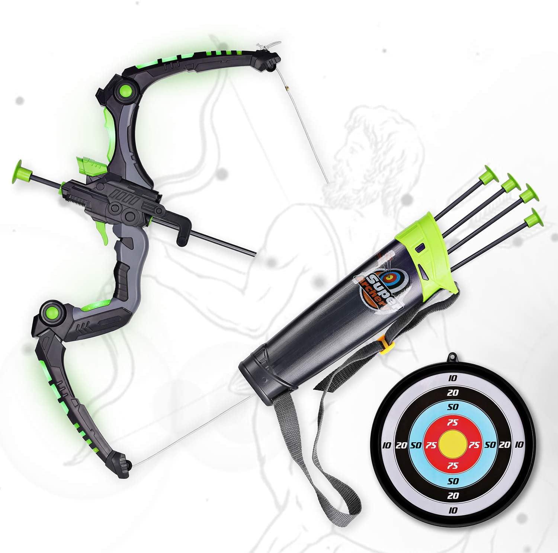 RealTree Light Up Bow /& Arrow Archery Set Outdoor Hunting Play