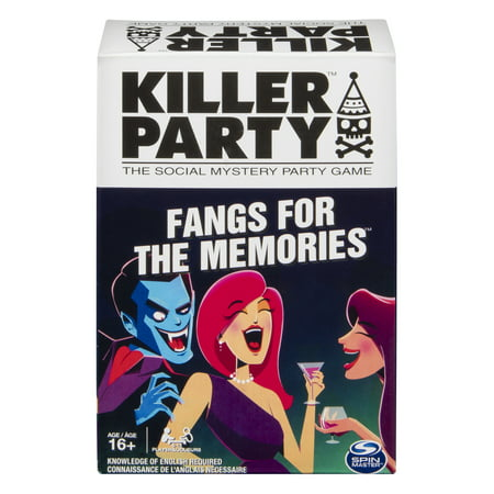 Killer Party - Fangs for the Memories, the Social Mystery Party Game for Ages 16 and Up - Printable Halloween Memory Games