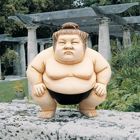 Design Toscano Basho the Sumo Wrestler Statue: - Sumo Wrestlers Costume