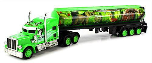 Jungle Safari Trailer Electric RC Truck Big 1:36 Scale Ready To Run RTR by Velocity Toys