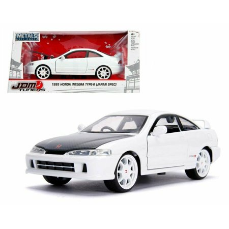 - JADA 1:24 W/B - METALS - JDM TUNERS - 1995 HONDA INTEGRA TYPE-R (JAPAN SPEC) (WHITE) 30931