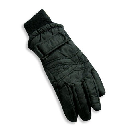 Winter Warm-Up - Big Girls Ski Glove Black / Large (Girls Elite Glove)