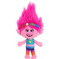 Trolls World Tour 8 Inch Small Plush Grand Finale Poppy, Ages 2+