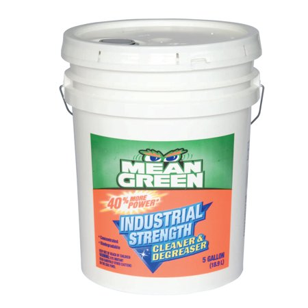 Mean Green Industrial Strength Cleaners & Degreasers, 5 gal (Industrial Strength Degreaser)