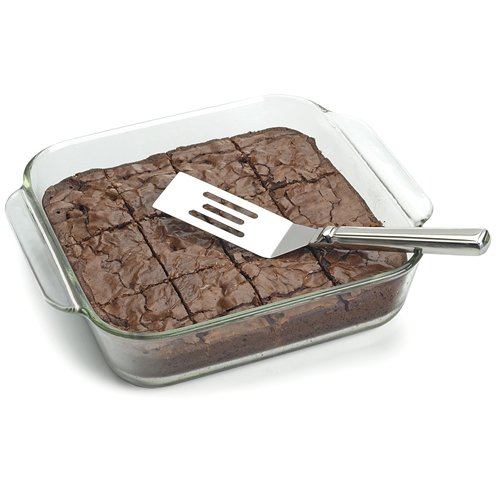 Anne Marie's 18 8 Stainless Steel Brownie Spatula by RSVP Endurance