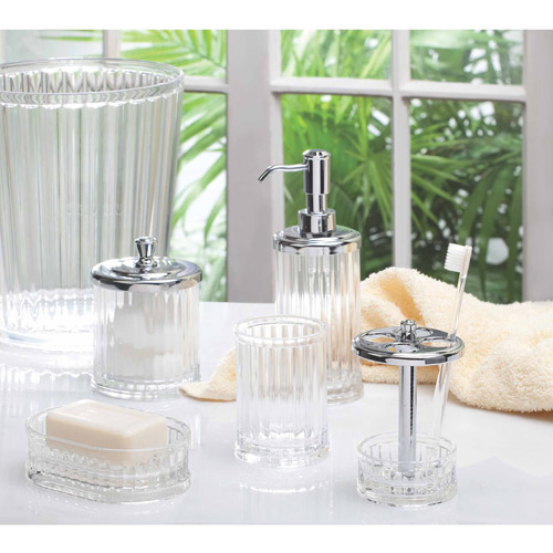 InterDesign Alston Acrylic Decorative Bath Accessories