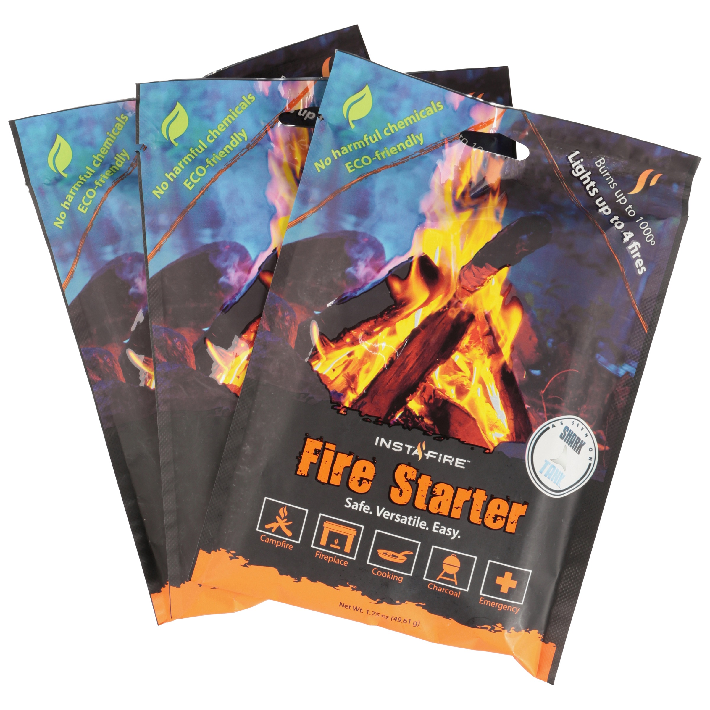 Instafire Fire Starter 1.75 oz Bag by Instafire