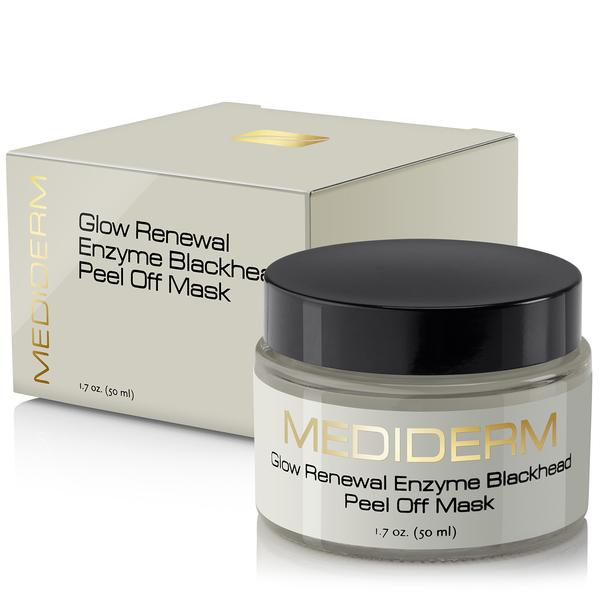MediDerm Best Glow renewal Enzyme Innovative Blackhead Peel off Mask, 1.7 oz