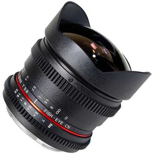 Rokinon 8mm T3.8 Cine Fisheye Lens for Canon EF Mount
