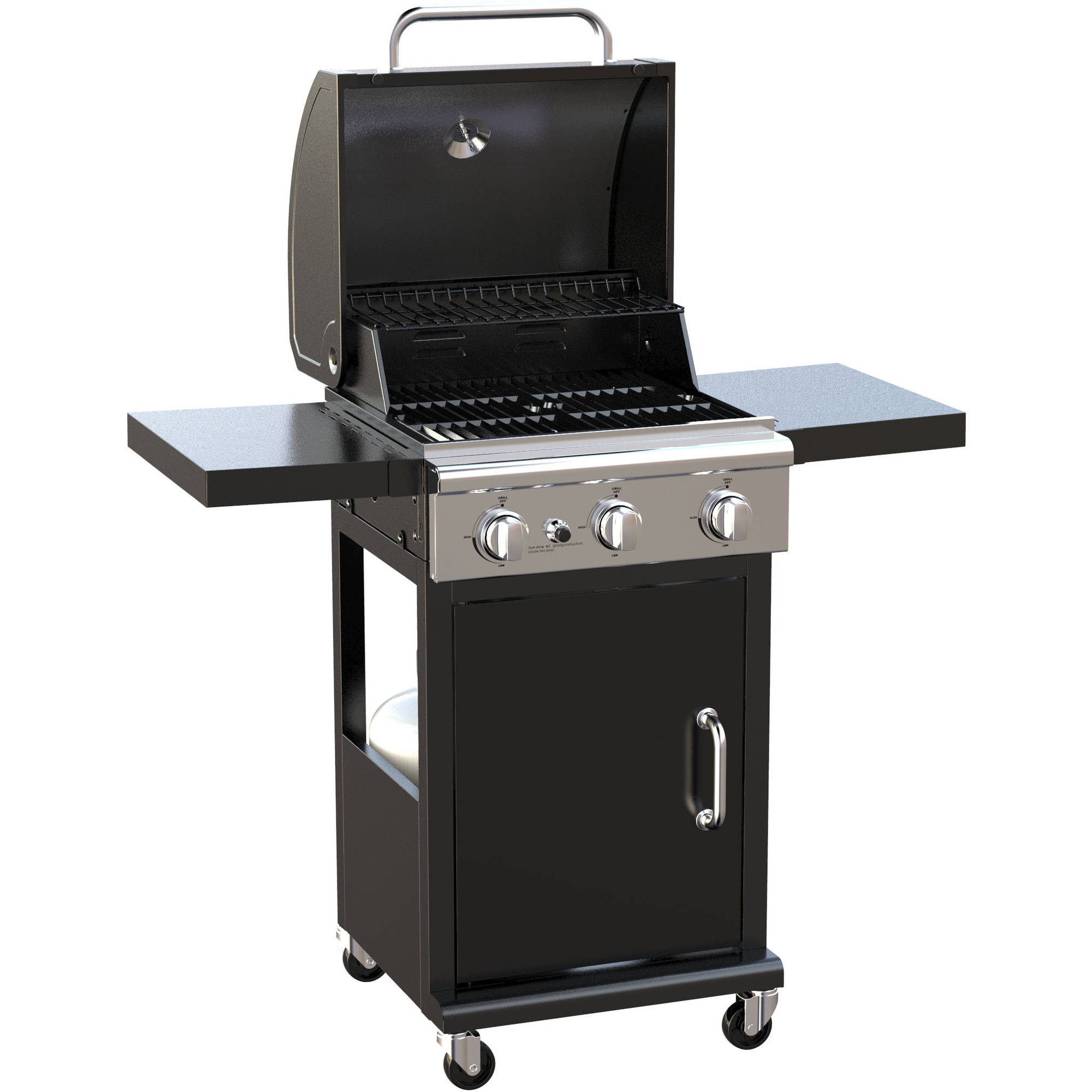 better homes and gardens 3 burner gas grill walmart com