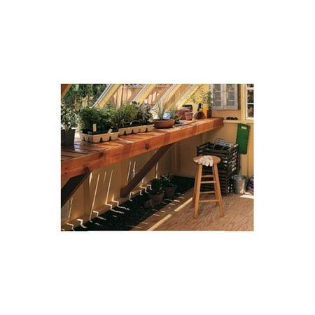 Handy Home Phoenix 8 ft. Cedar Bench