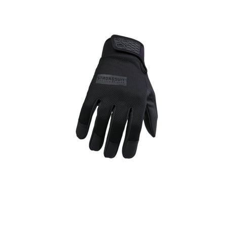 StrongSuit Second Skin Black Glove Large - Black Gloves