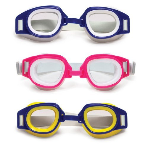 Poolmaster Junior Racer Child Goggles - 6 Pack (2 EA Color)