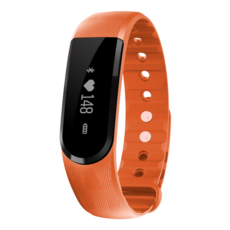 TechComm YX101 Water Resistant Fitness Activity Tracker Heart Rate Monitor