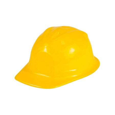 Child's Dozen Plastic Construction Hard Hat Helmet Costume Accessory Plastic Miniature Hats