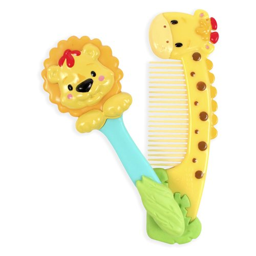 Sassy Jungle Brush and Comb Set