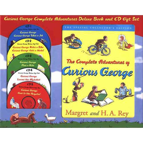 Curious George Complete Adventures Deluxe Gift Set [With 5 CDs]