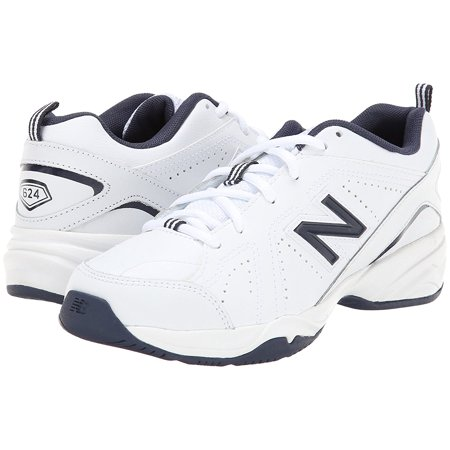New Balance Kx624nwy Little Boys White Navy Blue Sneakers