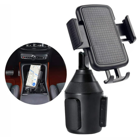 Cup Holder Phone Mount for Car Universal 360° Adjustable Car Mount for iPhone 11 Pro Max/11Pro/11/Xs/Xs Max/Xr/8/7/6S/6 Plus/iPod Touch/Note 10+/Note 10/S10+/S10