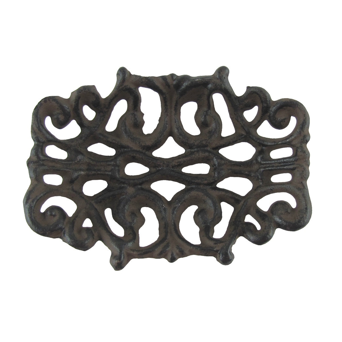 Bathroom Accessory Faux Leather Tooled Flower Soap Dish Or Coin//Change Dish