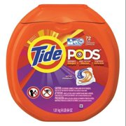 Tide 64 oz. High Efficiency Laundry Detergent, 4 Pack, 72/ Pack, 50978