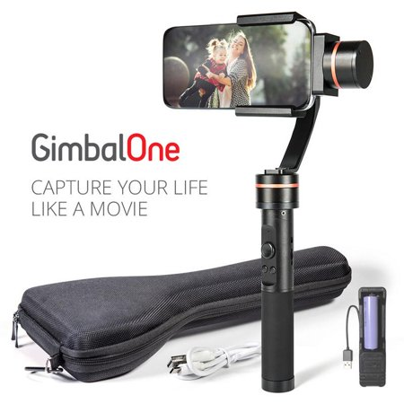 GimbalOne Smartphone Compact Steadicam 3-Axis Handheld Stabilizer Gimbal - Cinematic, Smart Motion Filming for All Smartphones Upto 7-Inches - image 9 de 9