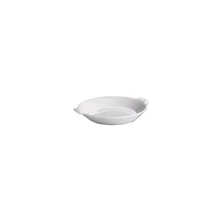 China Oval Gratin Dish (Hall China 2186-WH White 28 Oz. Au Gratin / Shirred Egg Dish - 12 / CS)