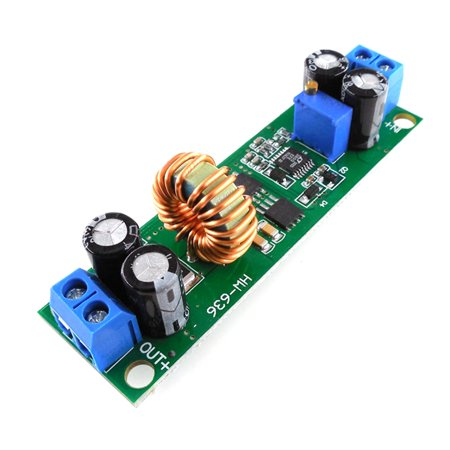 HW636 Voltage Converter 60V 48V 36V 24V to 19V 12V 9V 5V 3V Adjustable Step-down Power Supply Buck Stabilizer Regulator Module - image 5 de 8