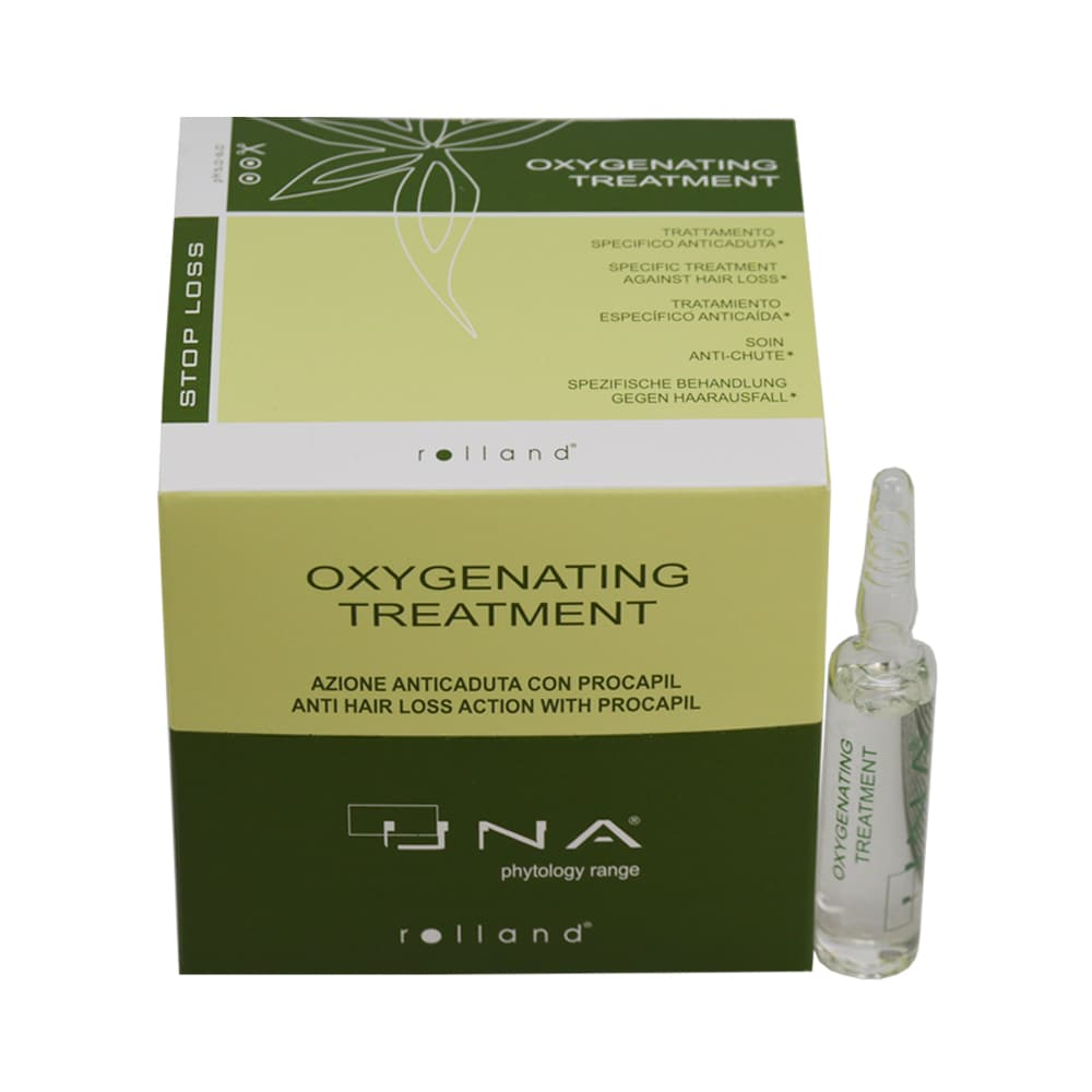 UNA Oxygenating Treatment 12 Applications Against Hair Loss