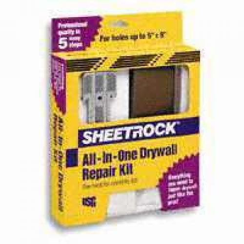 Us Gypsum 380132024 Usg Drywall Repair Kit - Carded - Walmart.com