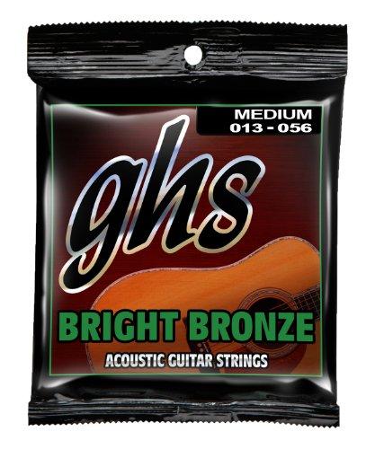 GHS Acoustic Guitar Brite Bronze Medium Strings by GHS