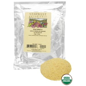 Starwest Botanicals - Bulk Garlic Granules Organic - 1 lb.