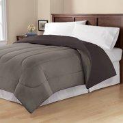 Mainstays Solid Reversible Bedding Comforter