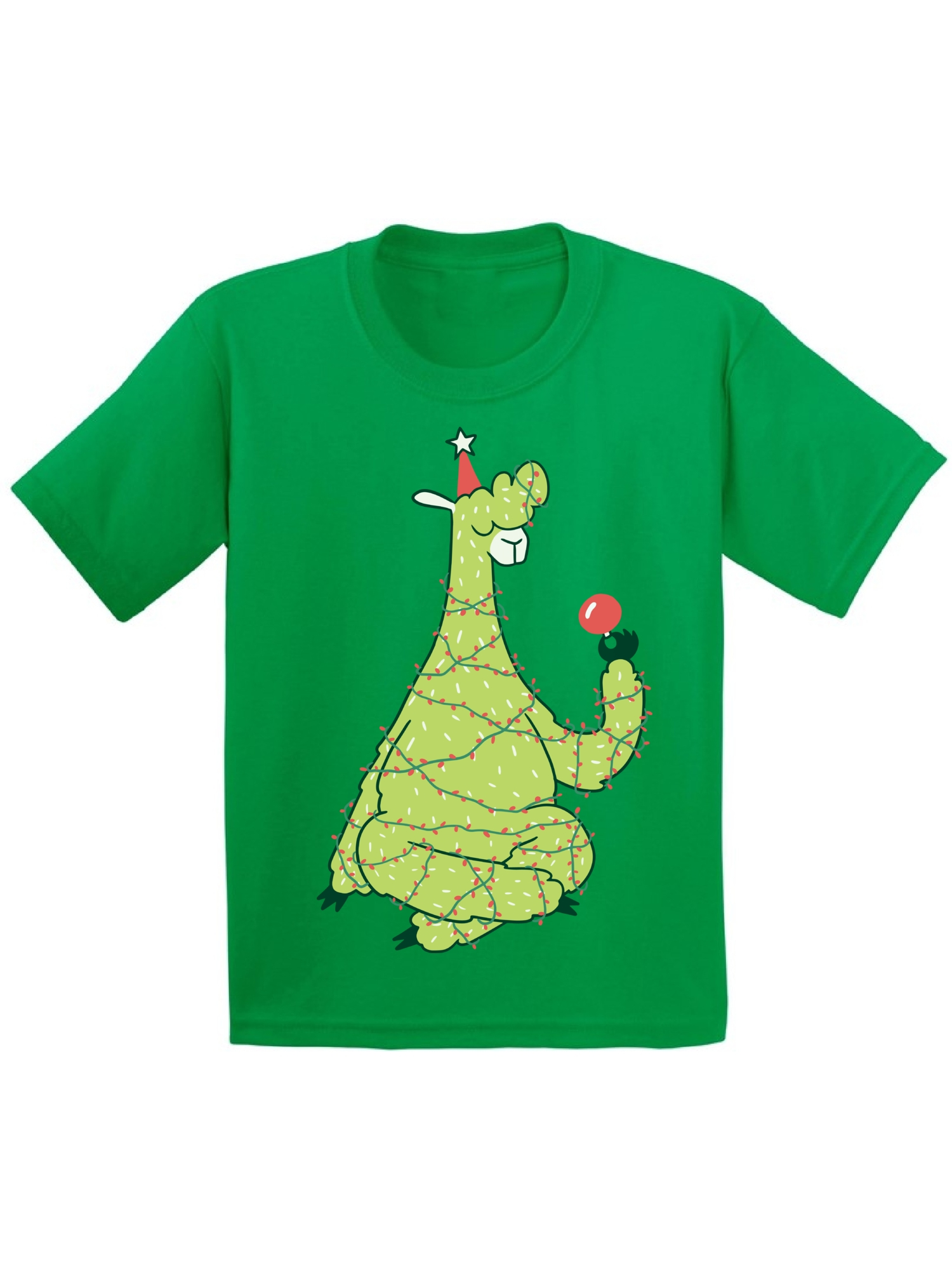 Personalized Llama Short Sleeve light green top w stripe pants Girly Llama Pajamas or design of your choice! UNISEX fit Pajamas