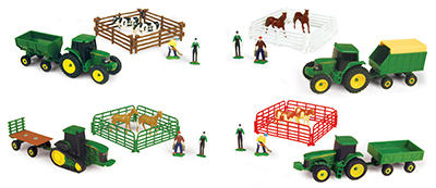 John Deere 10-Piece Farm Set by TOMY International