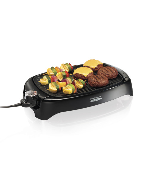 "Hamilton Beach 125"" Indoor/Outdoor Grill 