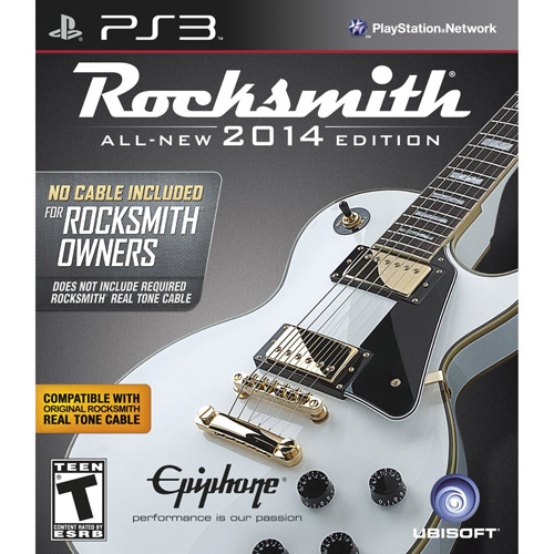 ROCKSMITH 2014 EDITION (NO CABLE INCLUDED) PS3 MISCELLANEOUS