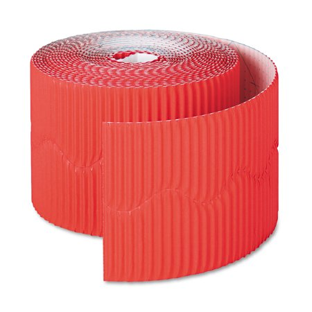 Pacon Flame Red Border Roll: 2.25 inches x 50 feet