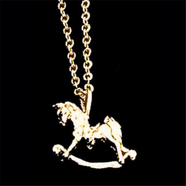Exselle 246248G Rocking Horse Pendant, Gold Plated - image 1 de 1