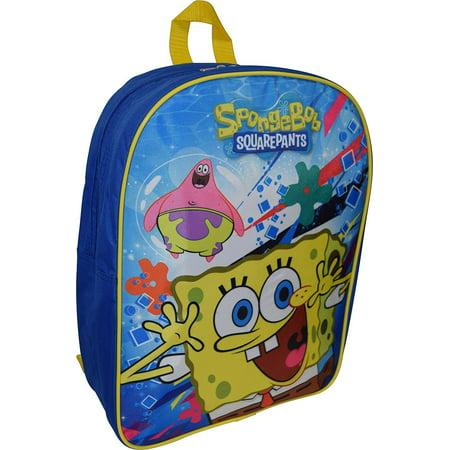 35a1b0d3eb Nickelodeon - Sponge Bob Squarepants 15 Boys Backpack