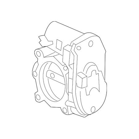 Genuine OE Mercedes-Benz Throttle Body