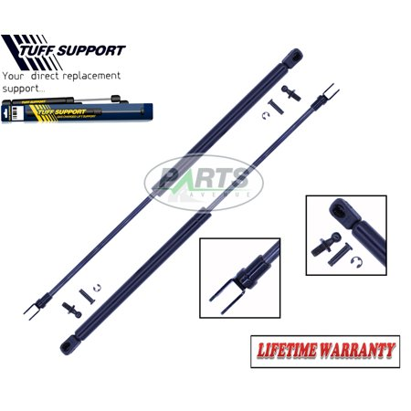 2 Pieces (SET) Tuff Support Hatch Lift Supports 1979 To 1985 Mazda RX7 Fits RX7 with Rear Defroster & Wipers ()