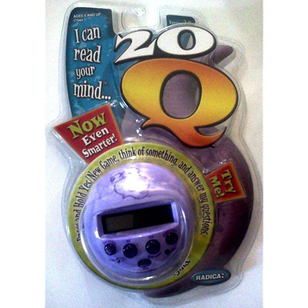 RADICA 20q version 2.0 mind reading game handheld electro...