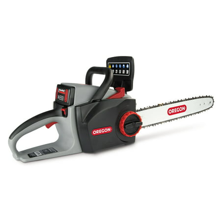 Oregon 40V CS300 Chain Saw - Tool Only (Does not include Battery or Charger) The CS300 Self-Sharpening Cordless Chainsaw cuts trees and limbs quickly and easily, tackling even the toughest jobs