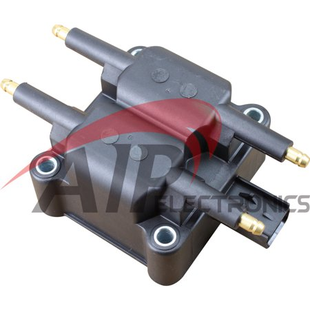 Brand New Complete Ignition Coil Pack For 1995-2010 Dodge Ram Jeep Mini Cooper Mitsubishi Eclipse Dodge Neon Stratus Caravan Plymouth Breeze Chrysler Cirrus Oem Fit C189 3 Flat Pins UF403 UF189 I4 V10