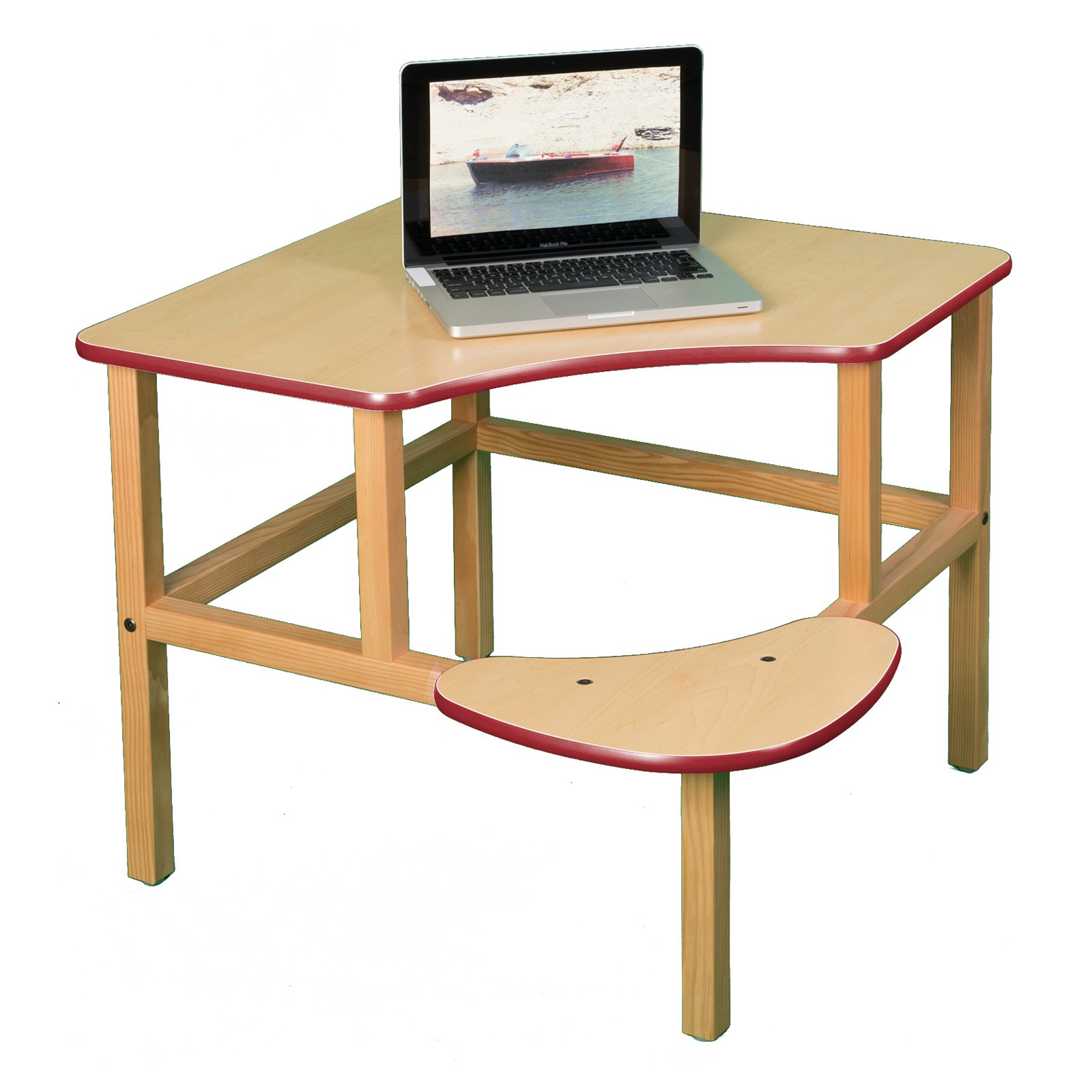 Wild Zoo Corner Desk - Maple