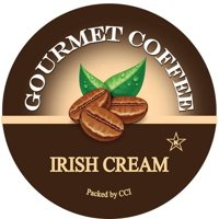 Smart Sips Coffee Irish Cream Flavored Single Serve Coffee Pods, 72 Count, Compatible With All Keurig K-cup Machines